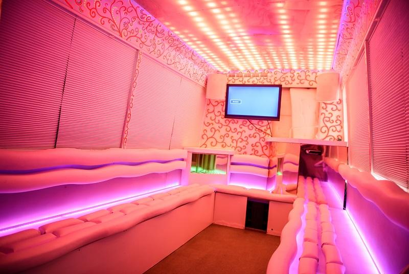 Party Bus Avatar Внутри